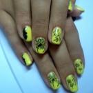 Маникюр с одуванчиками (26 фото): дизайн с разлетающимся цветком на ногтях, пошаговое руководство по созданию