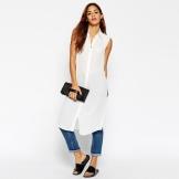 a32175d751b0 Но и монотонные модели коротких платьев-рубашек также можно смело  комбинировать с джинсами. В этом случае платье, скорее, будет смотреться  как туника.
