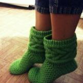 Вязаные носки: красивые шерстяные, приспособление для вязания, таблица размеров