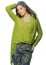 Блузки для полных (72 фото): которые стройнят, стильные фасоны, особенности дизайна, красивые модели, модные тенденции 2022
