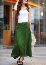 1df7f91e594a00e ... Льняные юбки выпускаются в широком ассортименте фасонов, цветов, что  позволяет подобрать идеальную модель для каждой девушки.