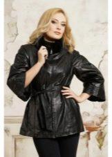 dea04ad5faa Кожаные куртки женские 2019 (105 фото)  из натуральной кожи