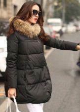 зимние пуховики фото женские