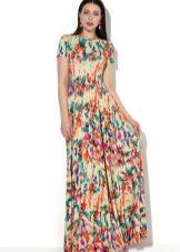 фасоны длинных платьев фото