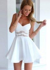 4021df9cea0 Белое летнее платье 2019 (84 фото)  из хлопка