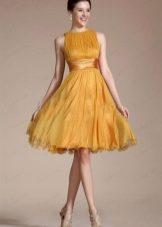 Женские многослойные платья с нижними юбками
