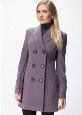 драповое пальто фото