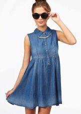 81acffc7bba Джинсовые платья не выходят из моды уже несколько десятилетий. Такую  популярность им обеспечивает их универсальность