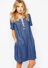 Джинсовые платья: фото
