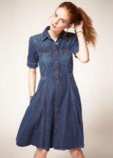 1fe5968f03a Джинсовые платья 2019 (184 фото)  модные новинки