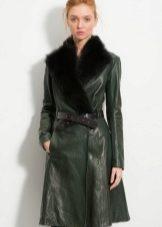 кожаные пальто фото