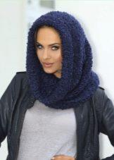 Как красиво завязать шарф на голове (69 фото): как правильно завязывать шарф на голову осенью и зимой разными способами