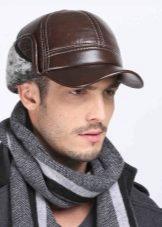 88666a6786c4 Мужские зимние кепки (54 фото): с ушами, с козырьком и меховые на ...