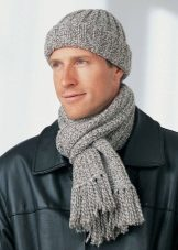 7f13985713e Вязаный мужской шарф относится к категории вещей must have в гардеробе  современного человека