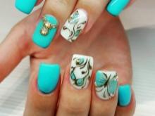 Маникюр с бабочками (39 фото): красивый летний дизайн ногтей 2022 с рисунком пошагово