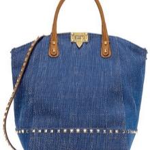 Женская сумка из джинсов 124