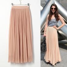 Купить макси юбка плиссе
