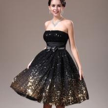 418f8a291ed Черное вечернее платье (66 фото)  черно-белое