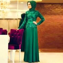 Очень красивое мусульманское платье