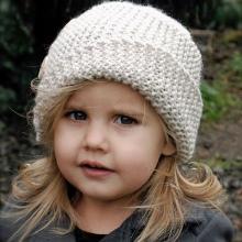 Вязание шапки для подростка и мужчины. Схема вязания 41