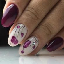 Весенний дизайн ногтей гель лак рекомендации