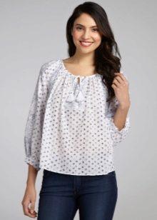 566b761c618 ... подобрать подходящую стильную блузку из хлопка. Учитывая стремление  женщин всегда и везде выглядеть модно и привлекательно