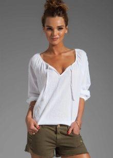 блузки из шитья 5
