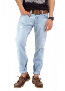 Как сделать подвороты на джинсах девушке если они широкие 802