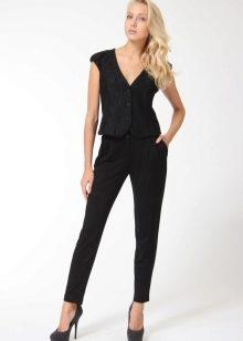 Черные женские брюки (97 фото)  с чем носить d15a8a3346a03
