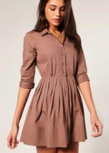 b47c8adcdb5 Платье-рубашка 2019 – 179 фото  модные новинки