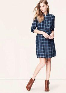 Варианты платья рубашки