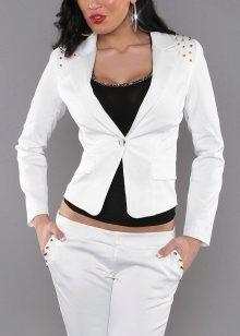 фото белые женские пиджаки