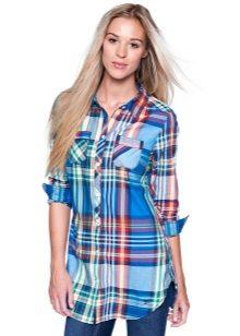 d27ba5deed5 Длинные рубашки женские (82 фото) 2019 года  удлиненные