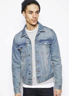 ac8d0266 Куртка джинсовая мужская 2019 года: с чем носить, с капюшоном ...