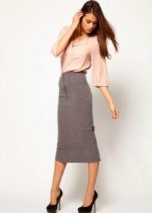Фасоны трикотажной юбки