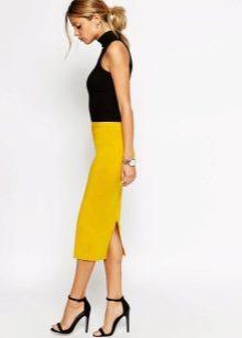 Юбка с кроссовками (69 фото юбка карандаш, белые и)