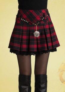 Шатланка юбка