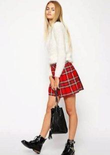 шьем юбку девочке в школу