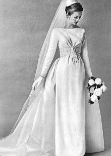Свадебные платья 60 х годов