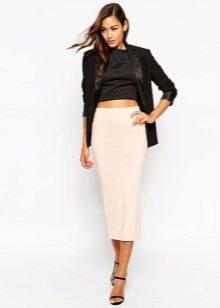 Длинные юбки для молодых девушек