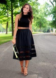 b40062e7371 Если вы привыкли к торжественным, грациозным нарядам, обратите внимание на  юбку-колокол из парчи. Эта шелковая ткань является естественной основой  дорогого ...