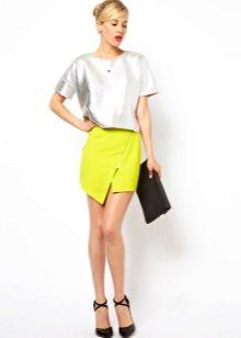 Короткие юбки из хлопка