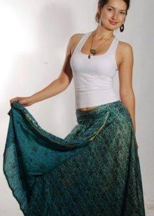 Индийские юбки в пол