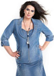 Женская Джинсовая Одежда Больших Размеров Доставка
