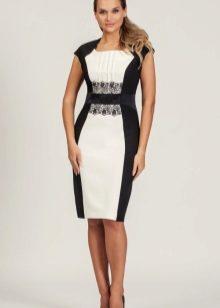 черно-белые платья фото