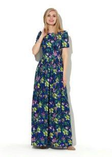 фасоны платьев длинных фото