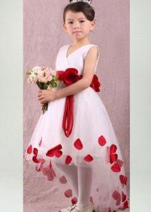 Платья с шлейфом для детей