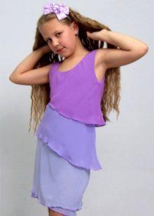 Летнее платье для девочек 12 лет фото