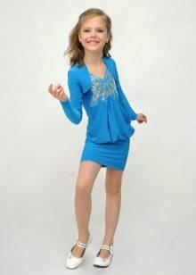 Платье для девочек 11 лет короткое