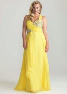 Платья мятного цвета фото для полных